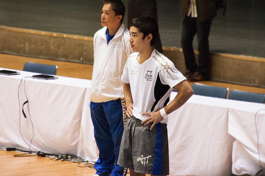 2014全日本個人総合:公式練習:白井健三
