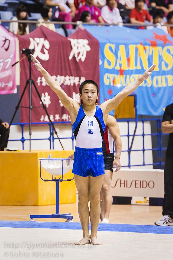 2014全日本個人総合:男子予選:千葉健太