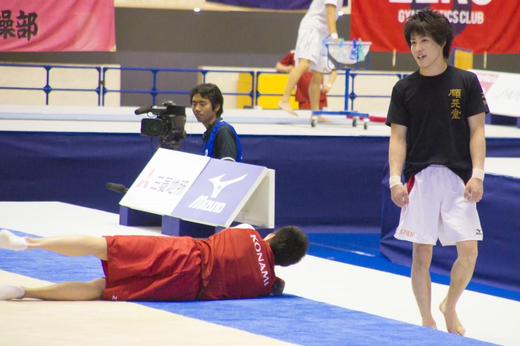 2014NHK杯公式練習:加藤凌平