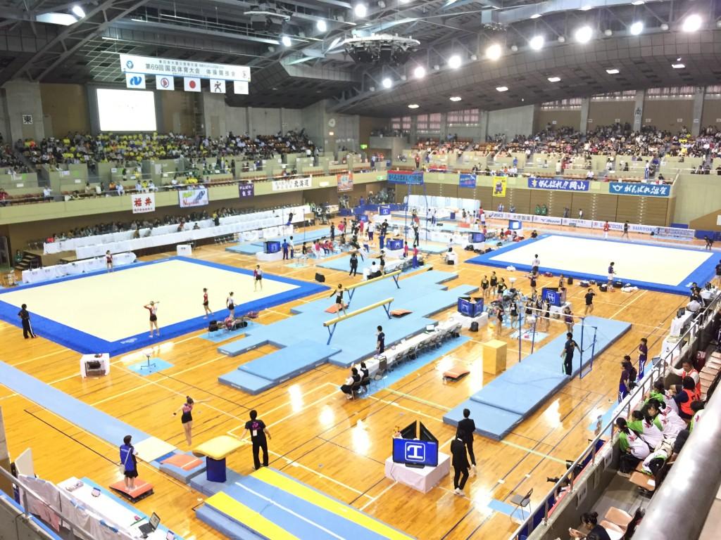 長崎国体体操成年決勝