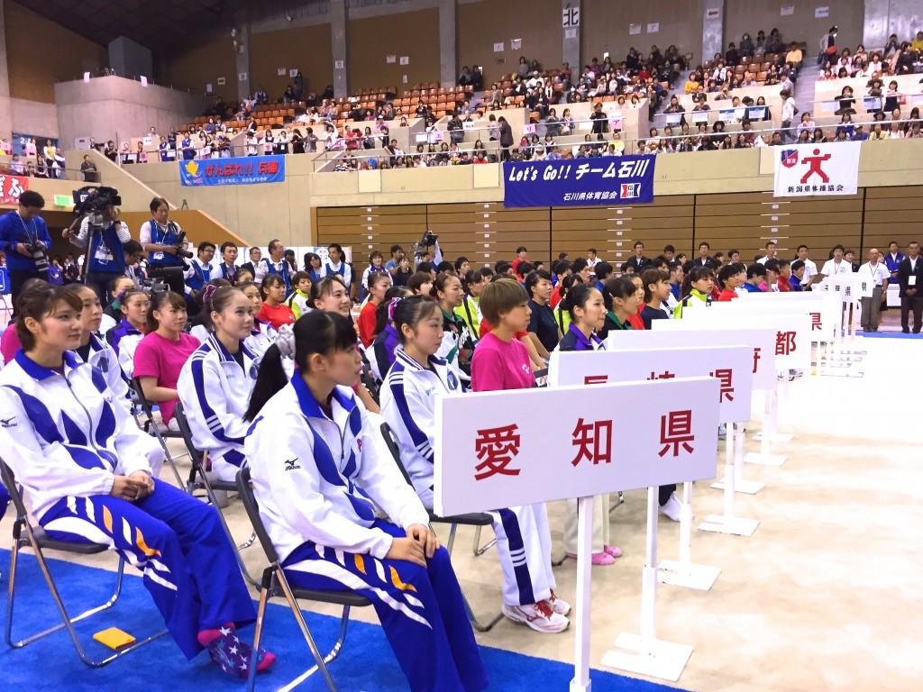 長崎国体体操成年女子