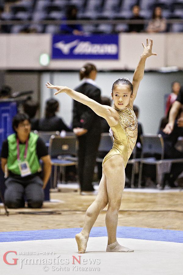 戸田市スポーツセンターの桒嶋姫子は中学1年生ながらチームには欠かせない存在となっている