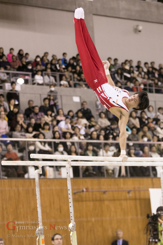 田中佑典の平行棒