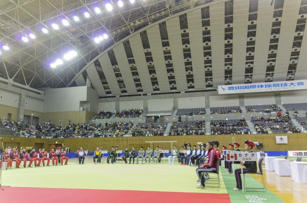 豊田国際体操2014開会