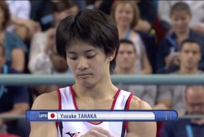 田中佑典の鉄棒(世界選手権)