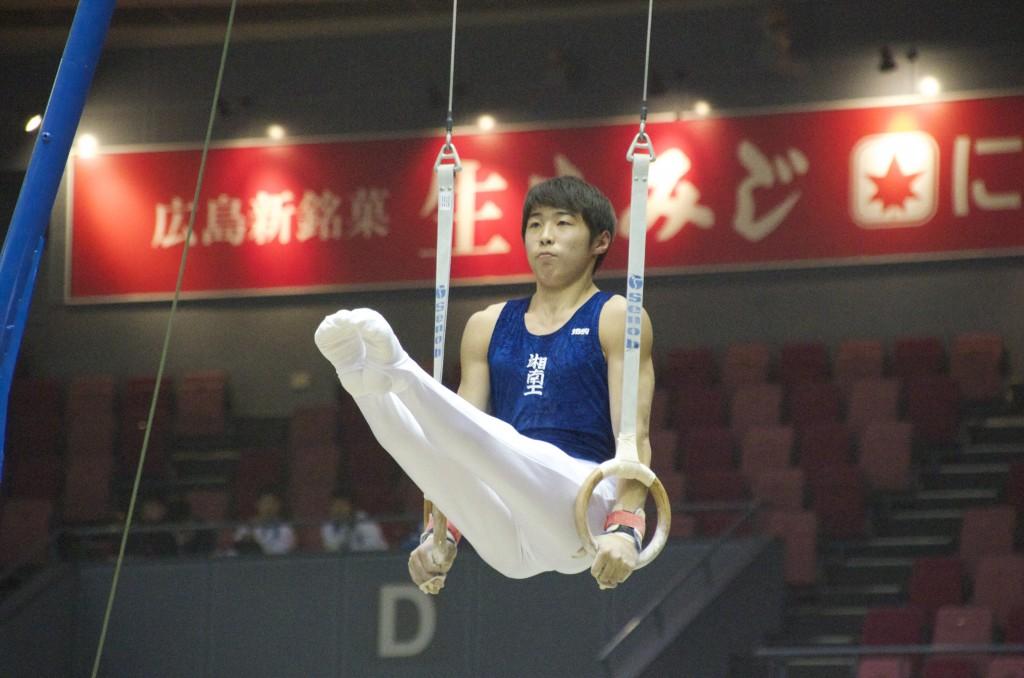 脚前挙の姿勢が美しい遠藤和希(湘南工科大学附属高校)