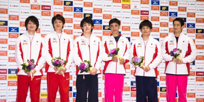 2015年世界選手権代表メンバー
