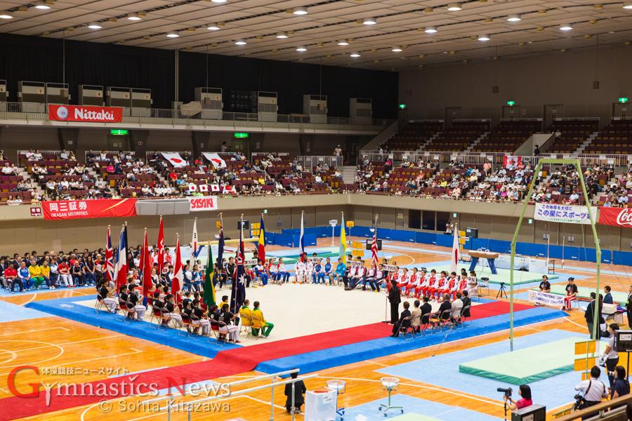 2015国際ジュニア開会式