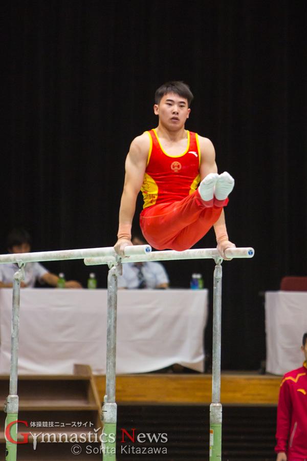 中国の平行棒