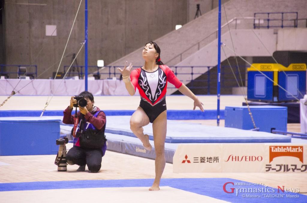 イメチェンを果たした笹田夏実は9位で予選通過