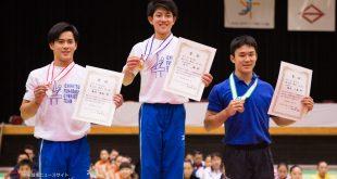 全日本ジュニア個人総合表彰台