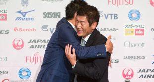 渡辺守成と鈴木大地スポーツ庁長官