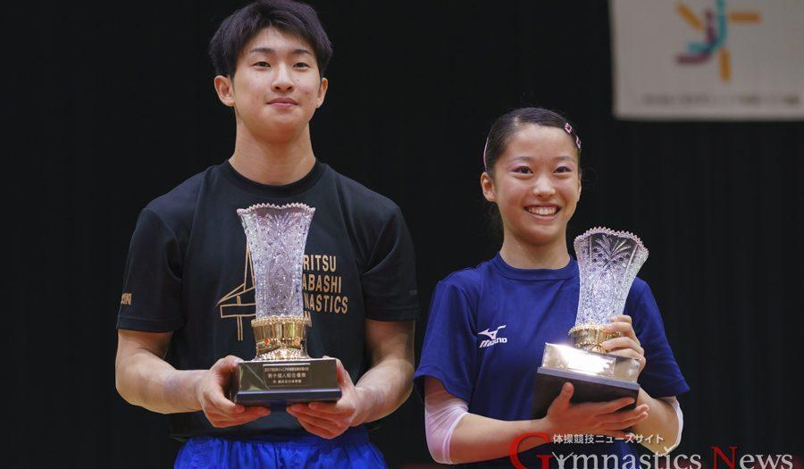 全日本ジュニア優勝