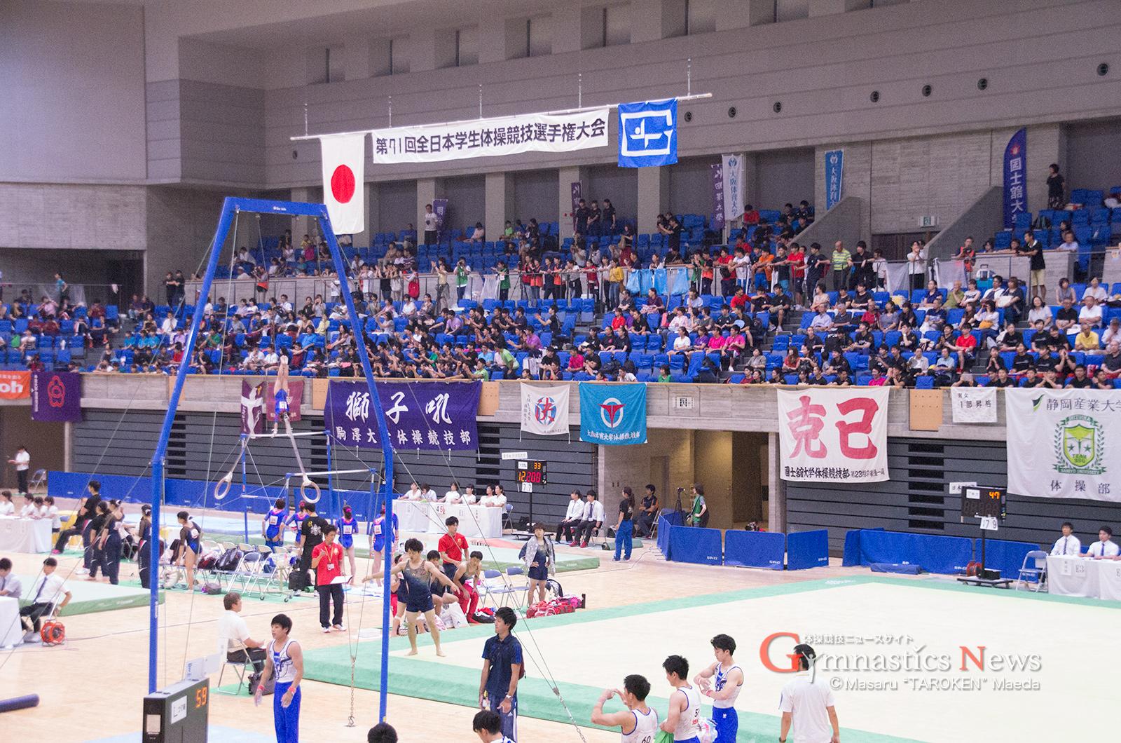 【速報】インカレ1部 団体・個人総合 結果 – Gymnastics News