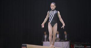 桒嶋姫子の平均台