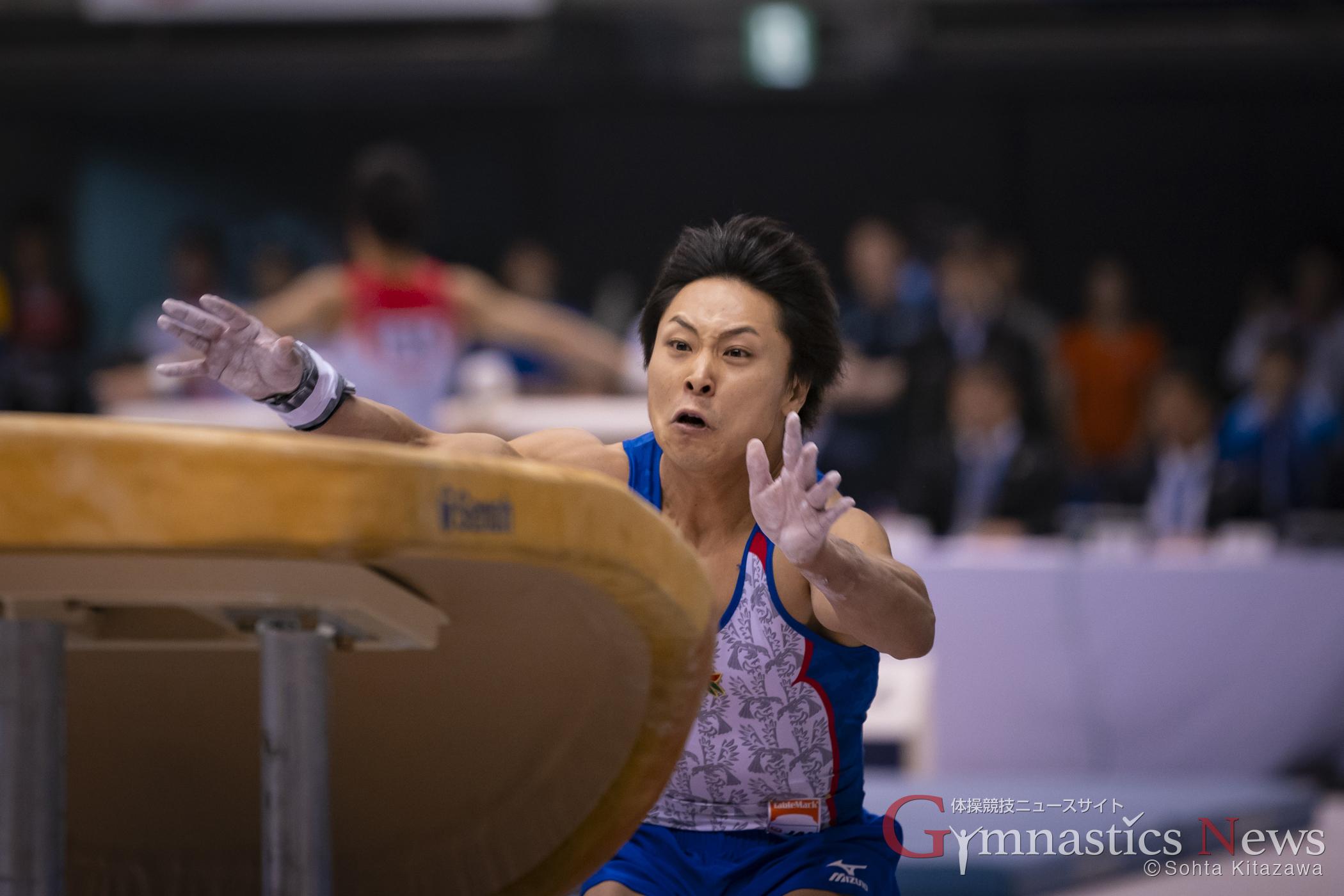 佐藤巧の跳馬