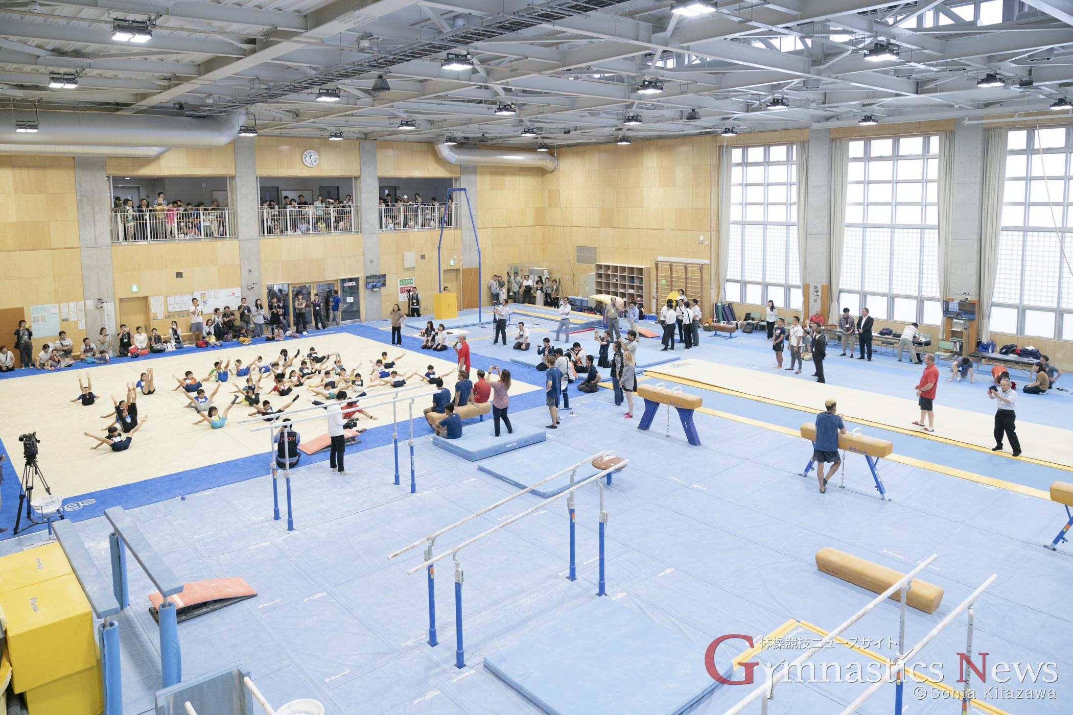 市立船橋高校第3体育館
