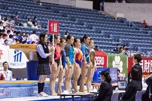第53回NHK杯体操女子2014