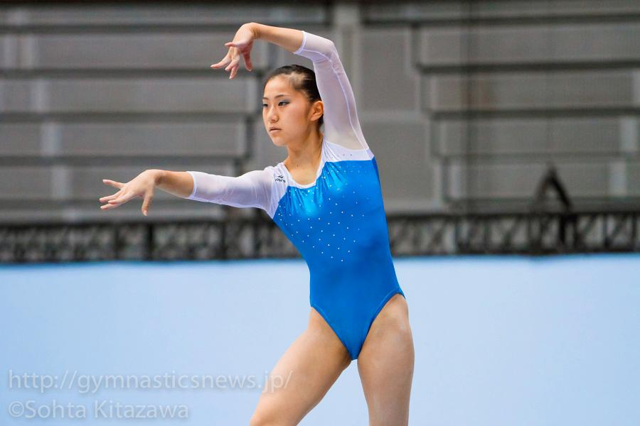 野田咲くら:19歳ながら全種目に出場しチームの優勝に大きく貢献した。