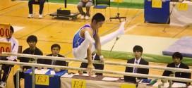 高校選抜2014白井健三:平行棒