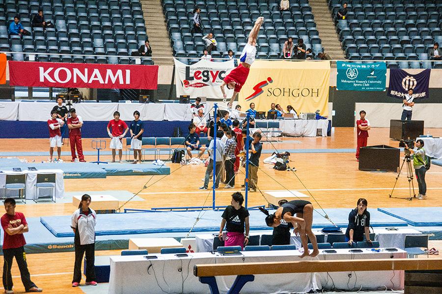 第68回全日本体操競技選手権大会 公式練習・記者会見