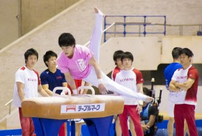 2014NHK杯公式練習:武田一志