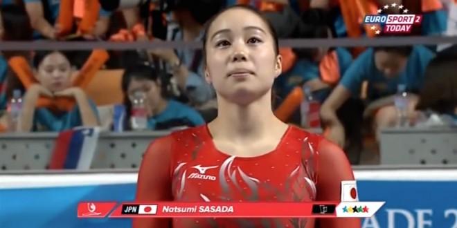 ユニバーシアードの笹田夏美