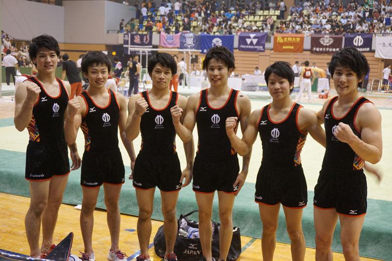 2年ぶりの優勝を決めた順天堂大学の6人中3人が1年生だった