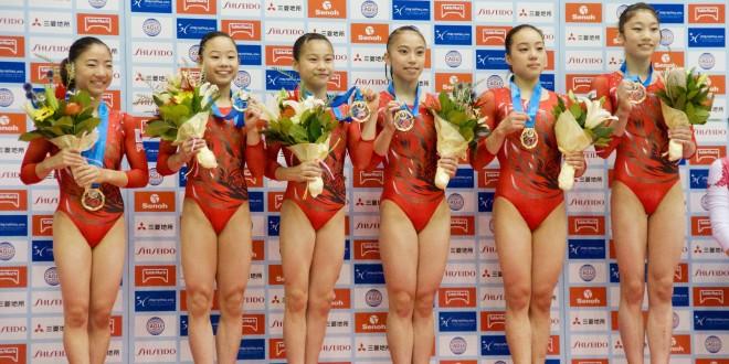 日本女子が団体優勝