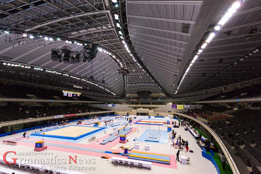 東京体育館 全日本シニア