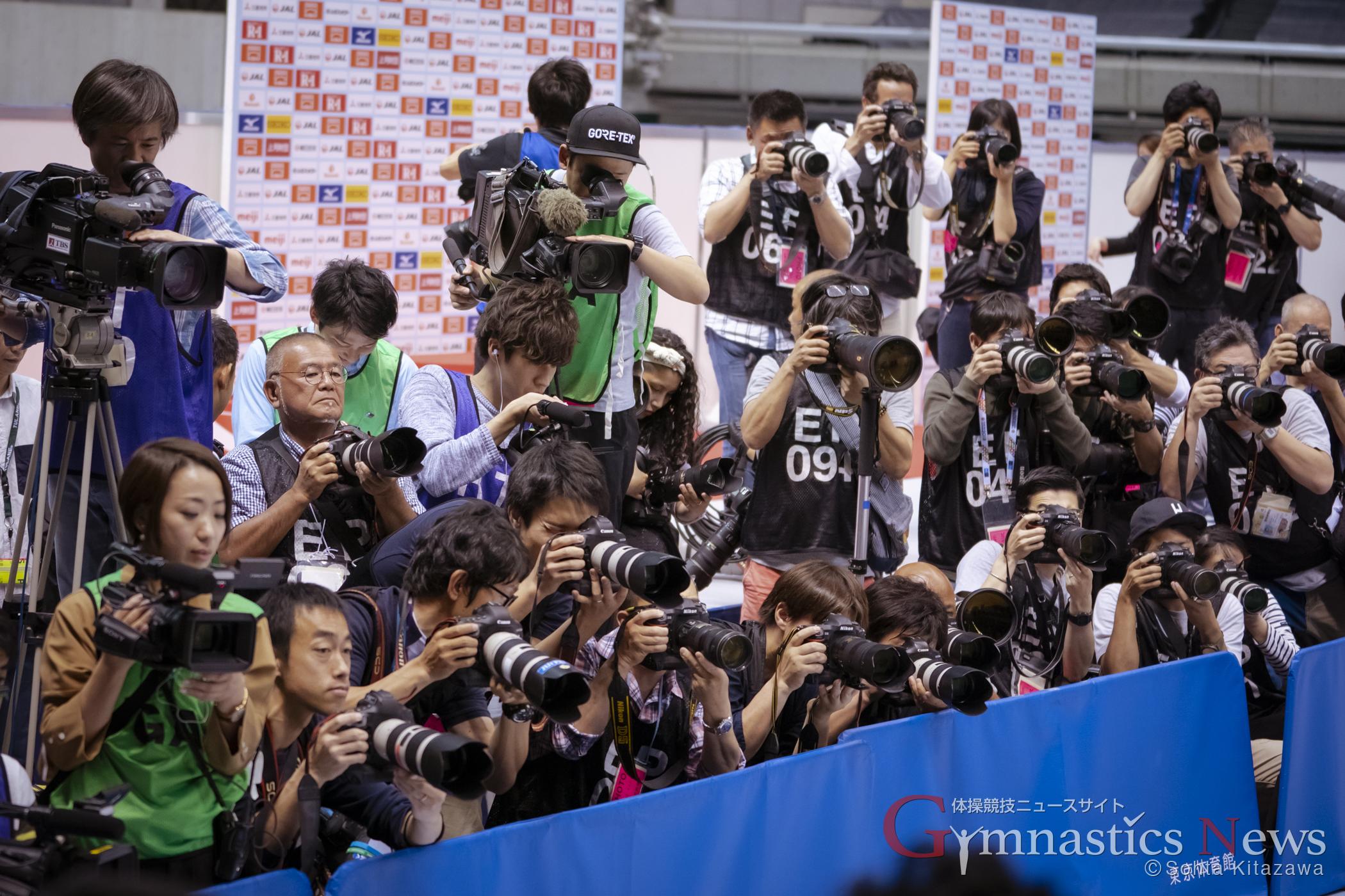 全日本個人総合のカメラマン