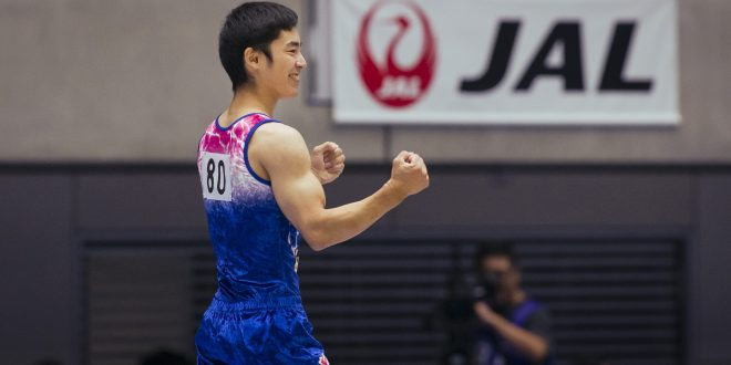 白井 健三 日本体育大学