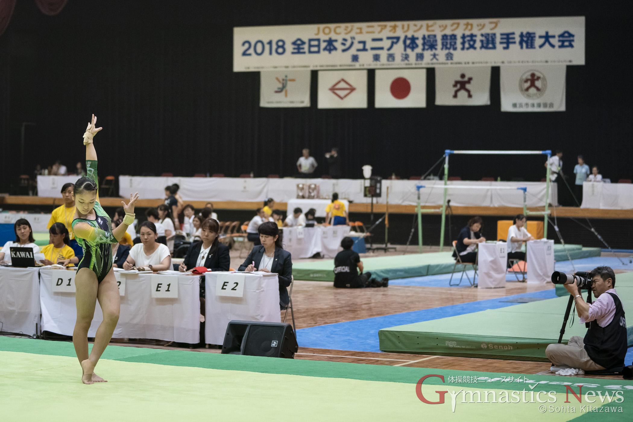 2018全日本ジュニア体操競技選手権大会 横浜文化体育館