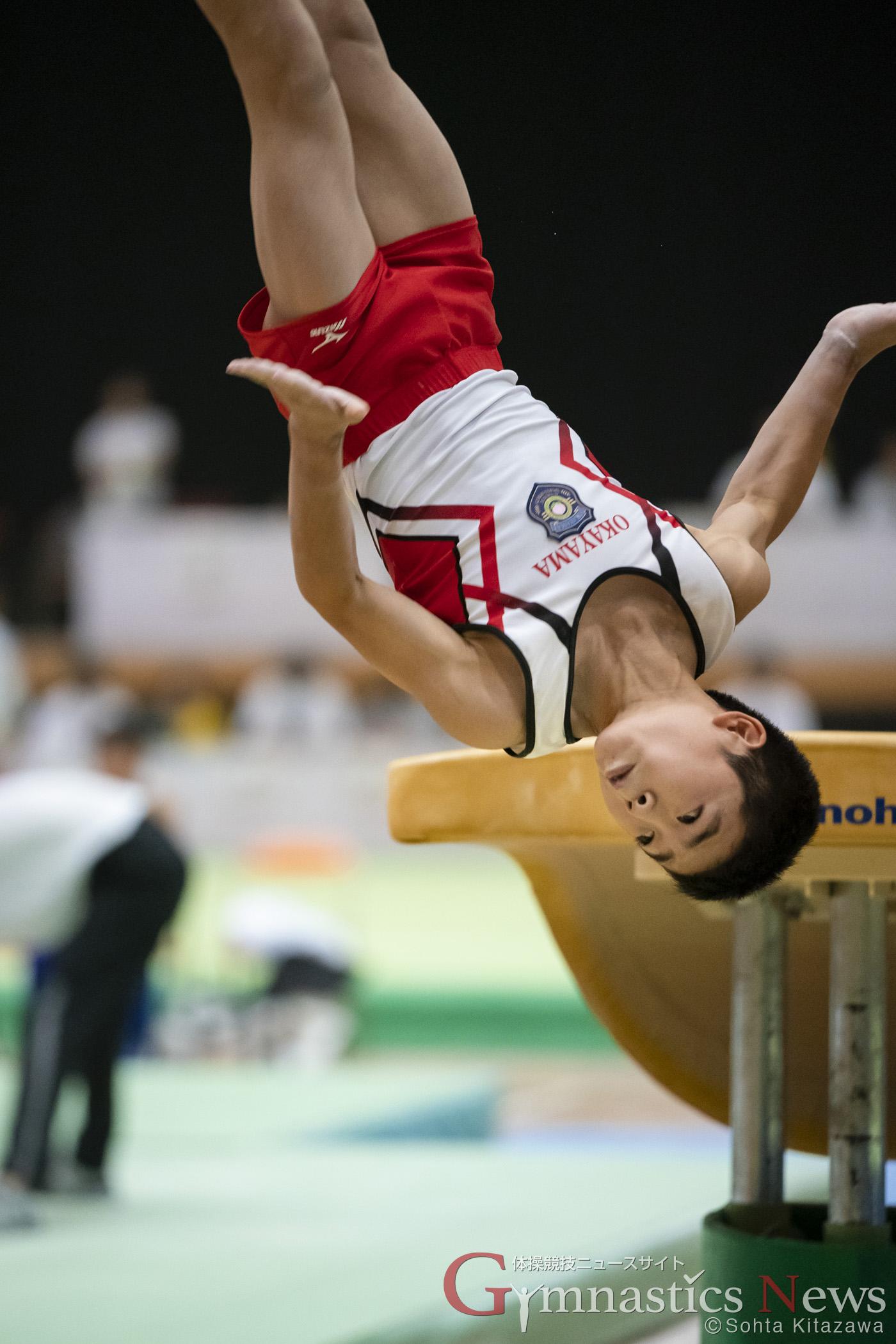 岡慎之助 おかやまジュニア体操スクール