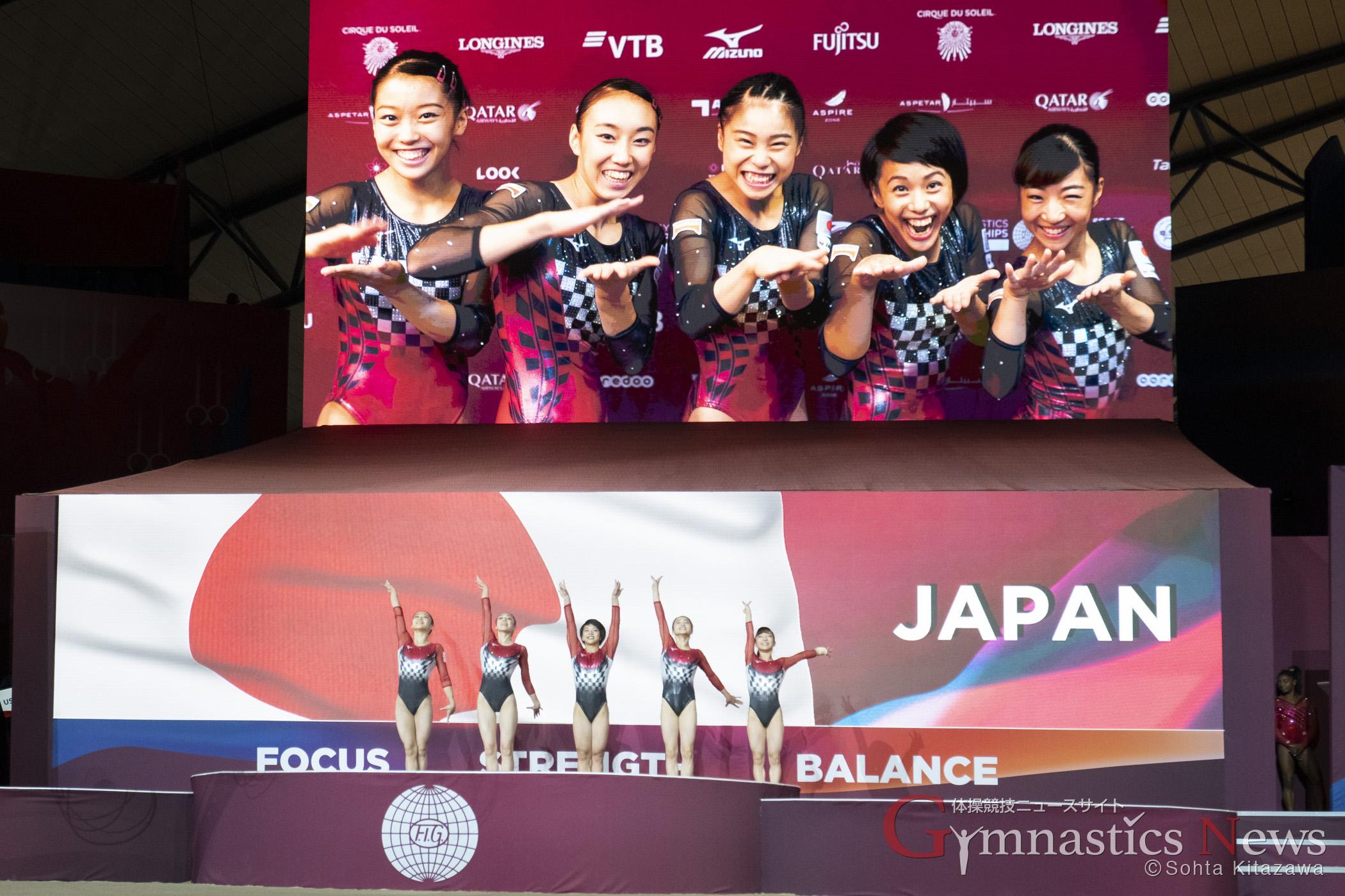 世界選手権女子団体決勝