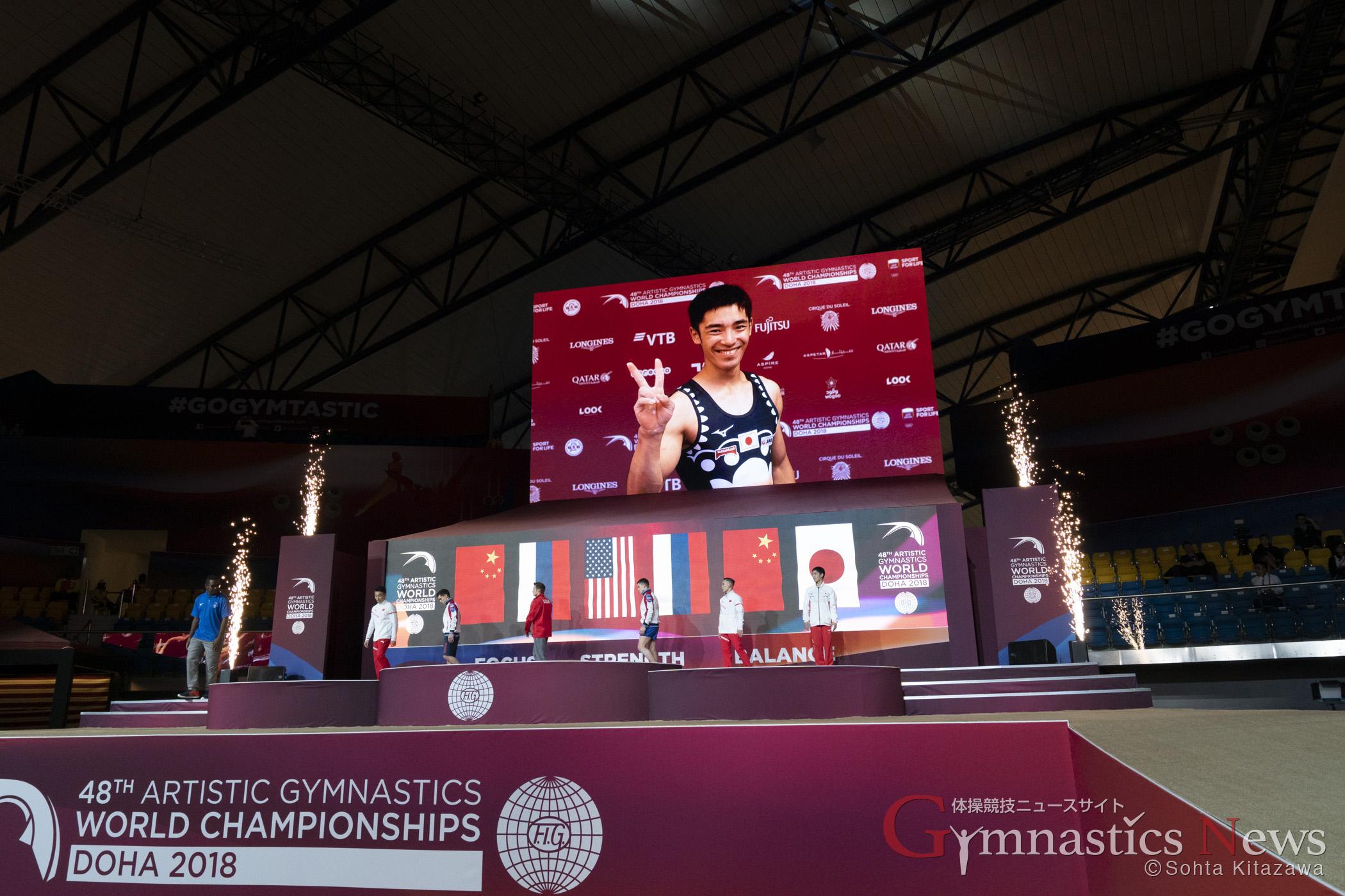 ドーハ世界選手権男子個人総合
