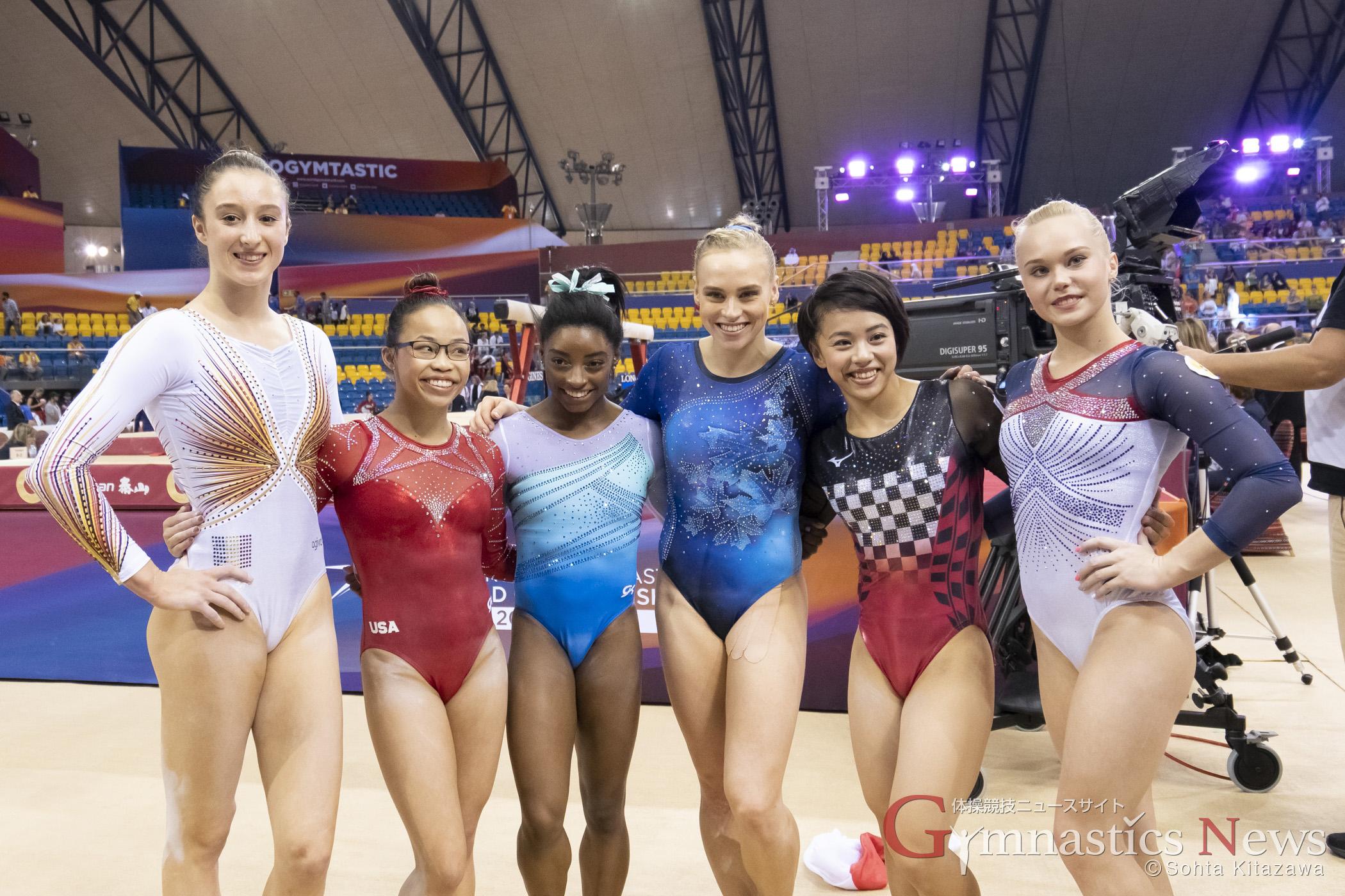 ドーハ世界選手権 女子個人総合