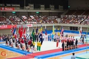 国際ジュニア体操競技大会 2015 Vol.01